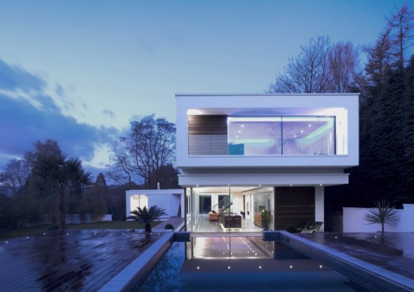White Lodge designed by Dwyer Grimes Architecture